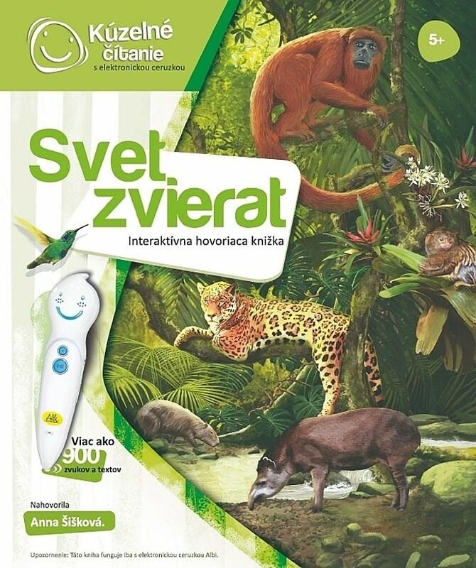 241c4507f Kúzelné čítanie – kniha Svet zvierat - Hry pre deti | iHRYsko ...