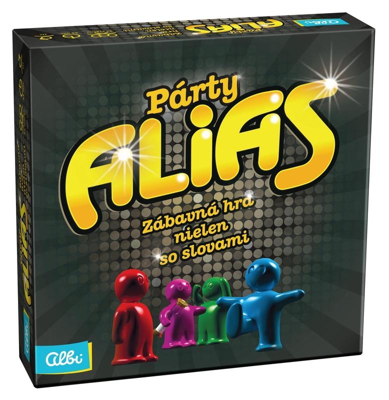 1589fba5f Párty Alias - Rodinné hry | iHRYsko - spoločenské hry pre deti a ...