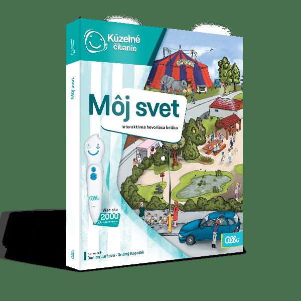 38421177d Kúzelné čítanie – kniha Môj svet - Hry pre deti | iHRYsko ...