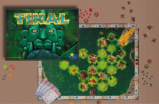 1866d8ea4e110 ... s taktickou (ako najlepšie umiestniť tento hex?, nemôže mi súper zobrať  pyramídu?). Ide o prvú a najúspešnejšiu hru z trilógie Tikal, Java a Mexica.