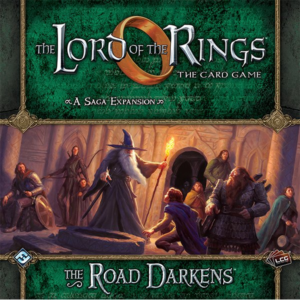 48537ef58 The Road Darkens Expansion (The Lord of the Rings: The Card Game ...