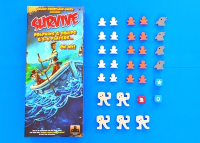 Survive!: Dolphins & Squids & 5-6 Players...Oh My!