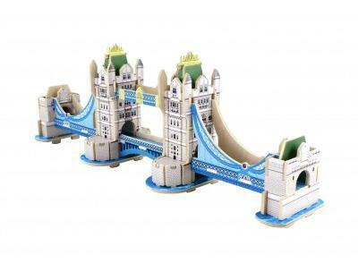 3D Puzzle - Tower Bridge malý
