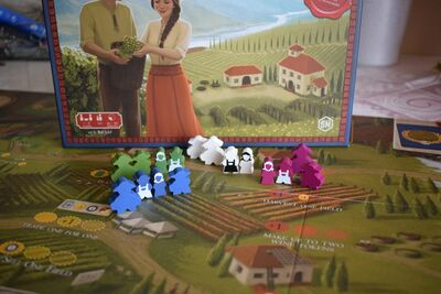 Viticulture: Tuscany - Essential Edition expansion