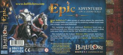 Battlelore: Epic (exp.)