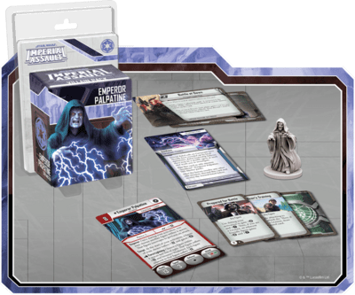 Star Wars: Imperial Assault - Emperor Palpatine Villain Pack