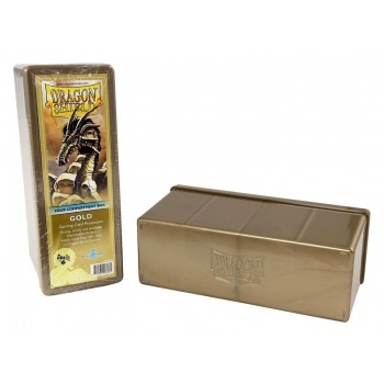 Dragon Shield Storage Box - Gold
