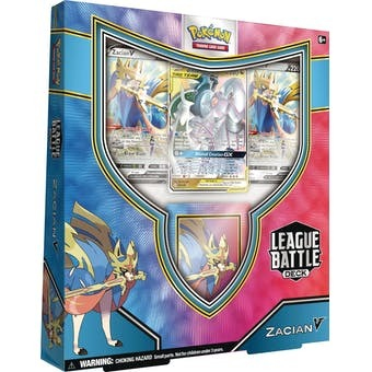 Pokémon: League Battle Deck Zacian V Vivid Voltage Sword and Shield 4
