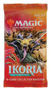Ikoria: Lair of Behemoths Collector Booster Pack - Magic: The Gathering