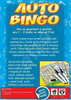 b6bc3dd4b Auto Bingo - Rodinné hry | iHRYsko - spoločenské hry pre deti a ...