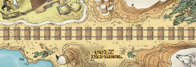 Colt Express Play Mat