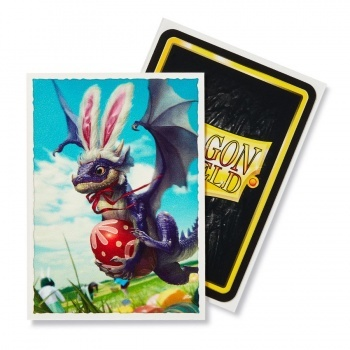 Obaly Dragon Shield ART Sleeves - Easter Dragons Matte 100 ks