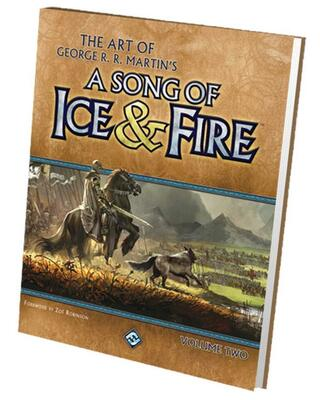 A Song of Ice and Fire Art Book Vol 2 (Game of Thrones)