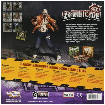 Zombicide: Angry Neighbours Tile Pack