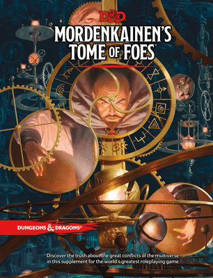 Mordenkainen's Tome of Foes: Dungeons & Dragons RPG (5th ed.)