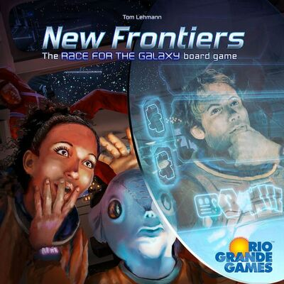 New Frontiers: The Race for the Galaxy Board Game