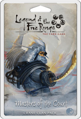 Masters of the Court Crane Clan pack: Legend of the Five Rings LCG