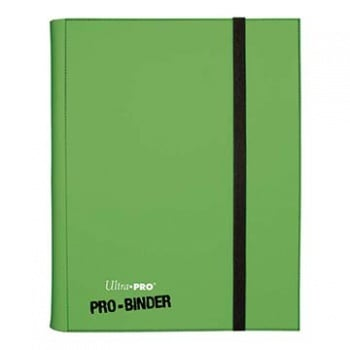 UltraPRO: A4 PRO-Binder album (Light Green) plast