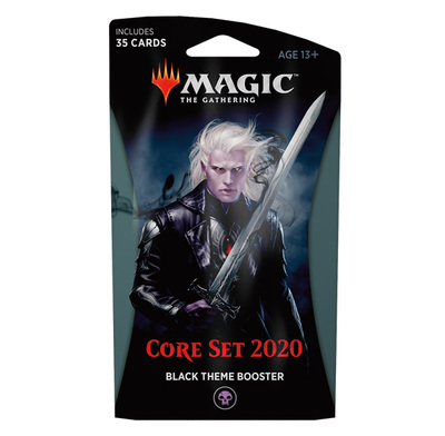 Core Set 2020 Theme booster BLACK - Magic: The Gathering