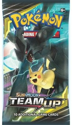 Pokémon: Team Up Booster Pack - Sun and Moon 9