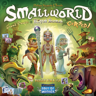 SmallWorld Race Collection: Cursed, Grand Dames & Royal