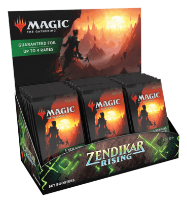 Zendikar Rising Set Booster Box - Magic: The Gathering