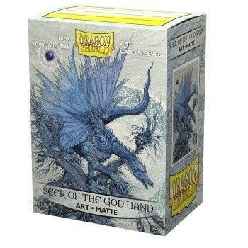 Obaly Dragon Shield ART Sleeves Matte Seer of the God Hand