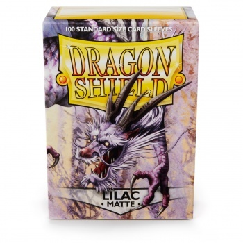 Obaly Dragon Shield Standard Sleeves - Matte Lilac (100 Sleeves)