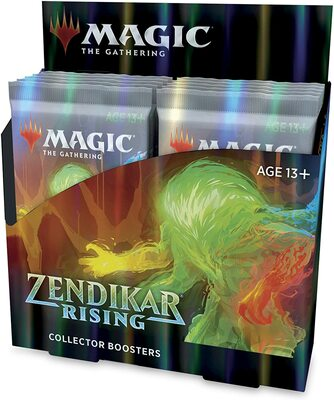 Zendikar Rising Collector Booster Box - Magic: The Gathering