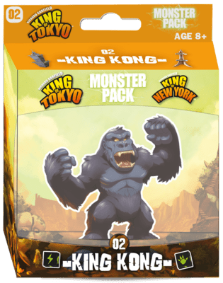 King of Tokyo: Monster Pack - King Kong