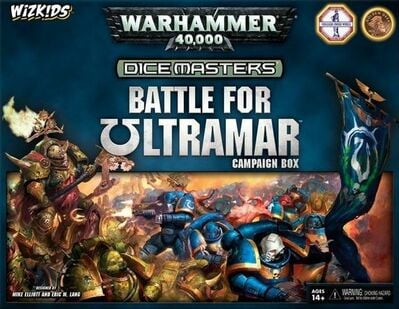 Dice Masters Warhammer 40 000: Battle for Ultramar Campaign box