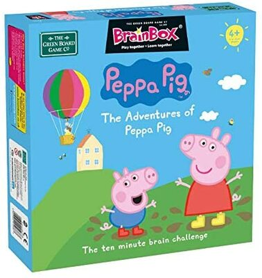V kocke! - Adventures of Peppa Pig EN (Brainbox)