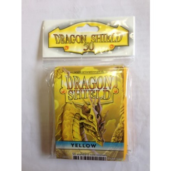 Obaly Dragon Shield Standard Sleeves - Yellow (50 Sleeves)