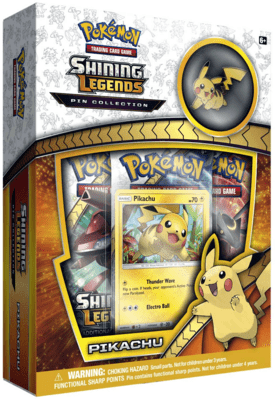 Pokémon Pikachu Pin Collection  - Shining Legends