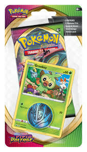 Pokémon: Grookey Checklane Blister Vivid Voltage Sword and Shield 4