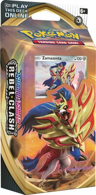 Pokémon: Zamazenta Theme Deck Swod and Shield Rebel Clash