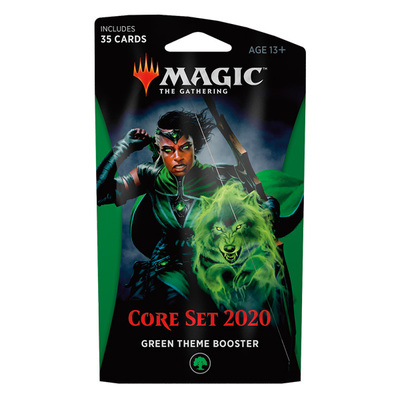 Core Set 2020 Theme booster GREEN - Magic: The Gathering