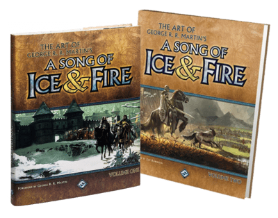 A Song of Ice and Fire Art Books (Vol 1 + Vol 2)