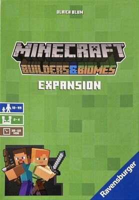 Minecraft: Builders & Biomes (Das Brettspiel) Expansion