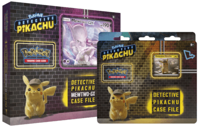 Pokémon: Detective Pikachu  Case File  & Mewtwo-GX Case File Bundle
