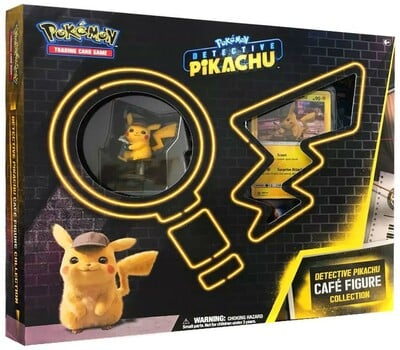 Pokémon: Detective Pikachu Cafe Figure Collection