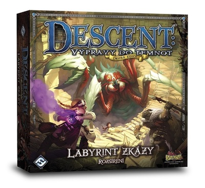 Descent: Výpravy do Temnot - Labyrint zkázy