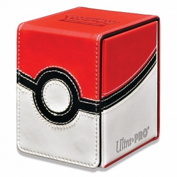 UltraPRO: Alcove Flip Box - Pokémon - Poke Ball