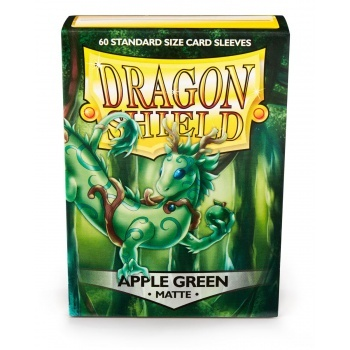 Obaly Matte Apple (60ks): Dragon Shield Standard sleeves