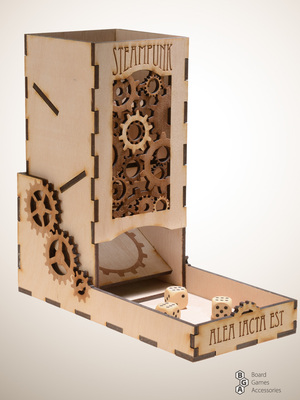 Dice Tower Steampunk