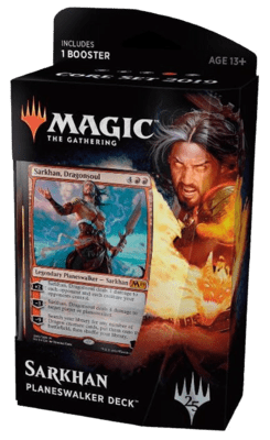 Planeswalker Deck: Sarkhan (Red) Core Set 2019  - Magic: The Gathering