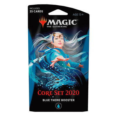 Core Set 2020 Theme booster BLUE - Magic: The Gathering