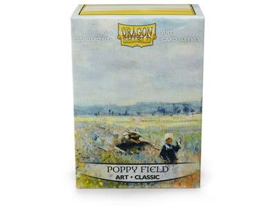 Obaly Dragon Shield Standard Art Sleeves - Poppy field (100 Sleeves)