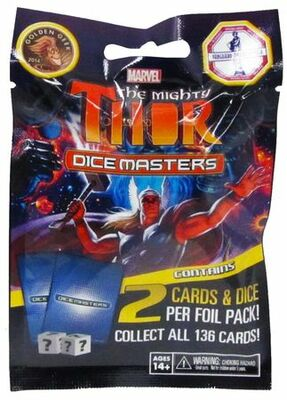 The Mighty Thor Booster Pack: Marvel Dice Masters