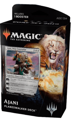 Planeswalker Deck: Ajani (White) Core Set 2019 - Magic: The Gathering